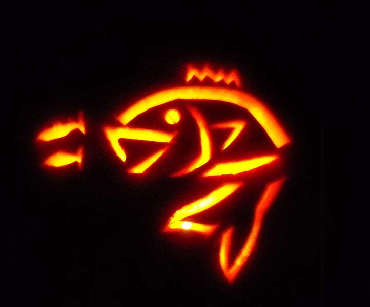 The gallery for gt bass fishing stencil